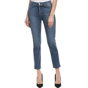 Hudson Vintage Holly High Rise Crop Skinny Jean